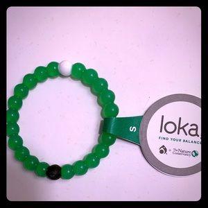 Lokai Bracelet Green - size small NWT
